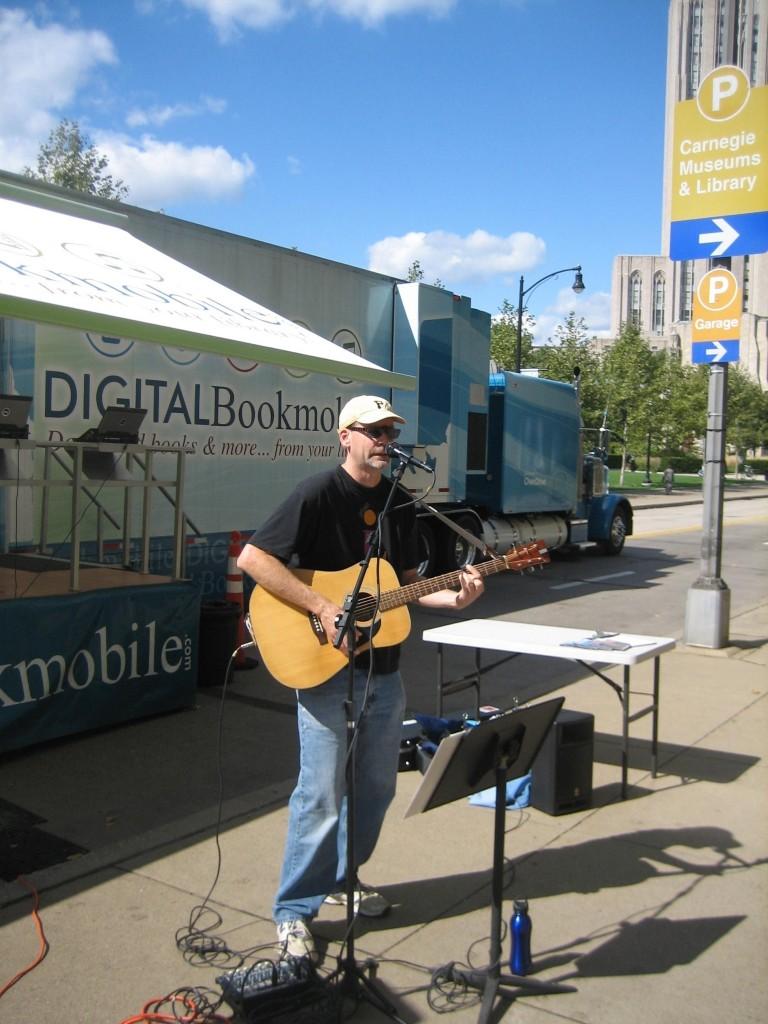 Digital Bookmobile October 2009
